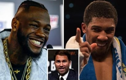 Eddie Hearn claims he will quit boxing if an Anthony Joshua vs Deontay Wilder fight doesn't end in a KO