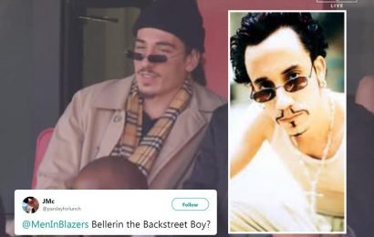 Arsenal ace Hector Bellerin wears outrageous outfit and dodgy sunglasses and fans have likened him to Inspector Gadget
