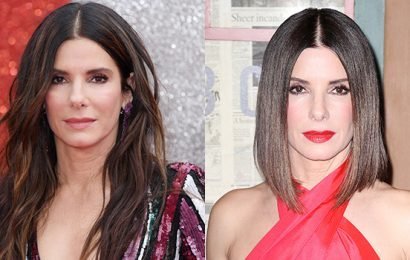 Sandra Bullock Shows Off Blunt Bob Haircut On 'Live With Kelly & Ryan' — See Makeover