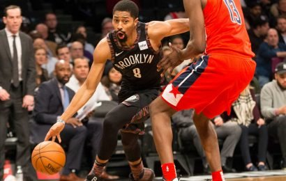 Spencer Dinwiddie won't stop and has Nets looking scary