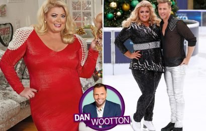 Gemma Collins says she's not Dancing On Ice's 'fat joke' and vows to win over her critics