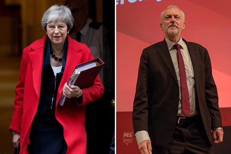 Tory MPs warned Jeremy Corbyn could become PM by Christmas if May isn't backed