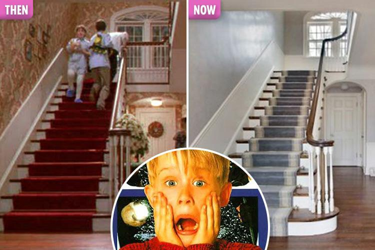 Home Alone today: Get a sneak peek into the interior of the house that made for Christmas movie gold