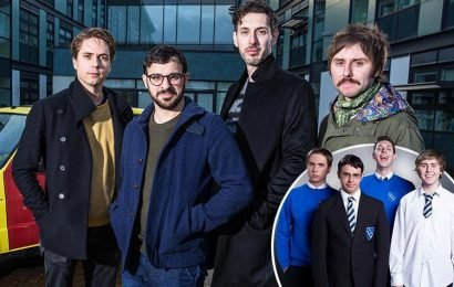 The Inbetweeners comeback – the famous four get back together to celebrate a decade since the comedy first aired