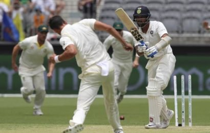 Test in the balance after Kohli absorbs blows, then strikes back