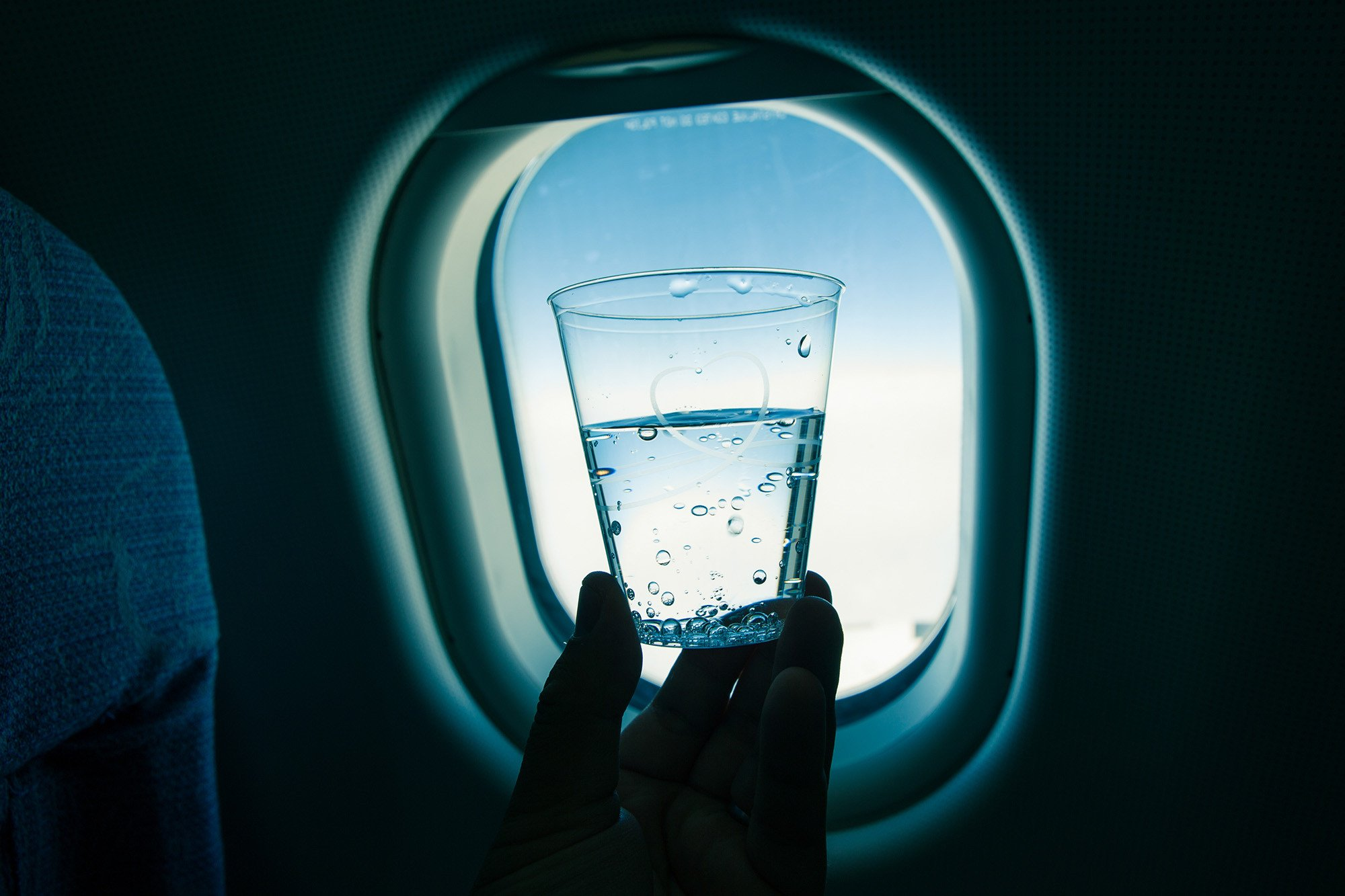 Water on airplanes is basically E. coli soup