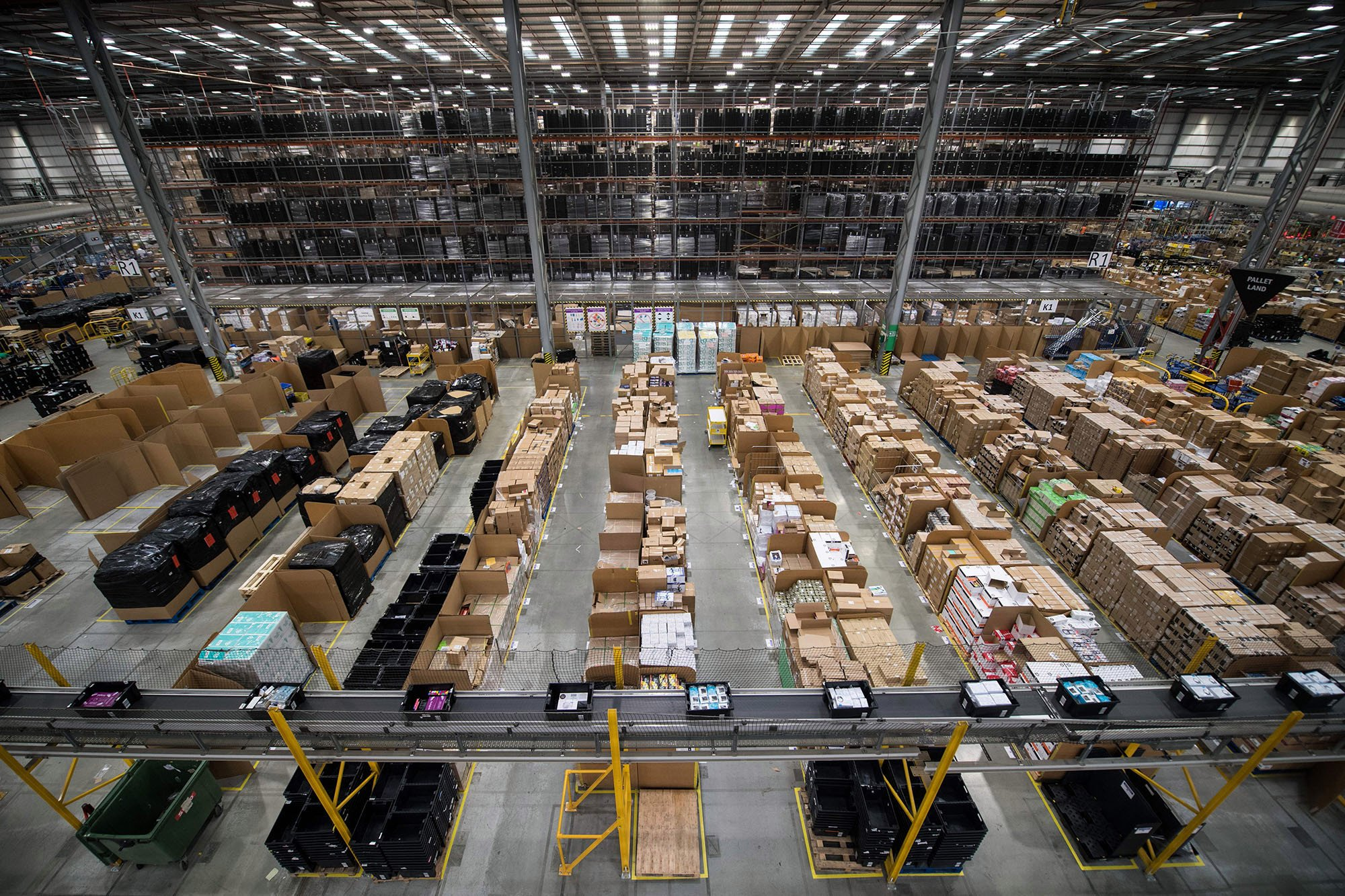 Amazon workers sickened when bear spray explodes in warehouse