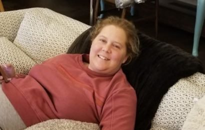 Amy Schumer Hooked Up To IV Amid Returning Sickness — Is She OK? See Pic & Her Message To Her Fans