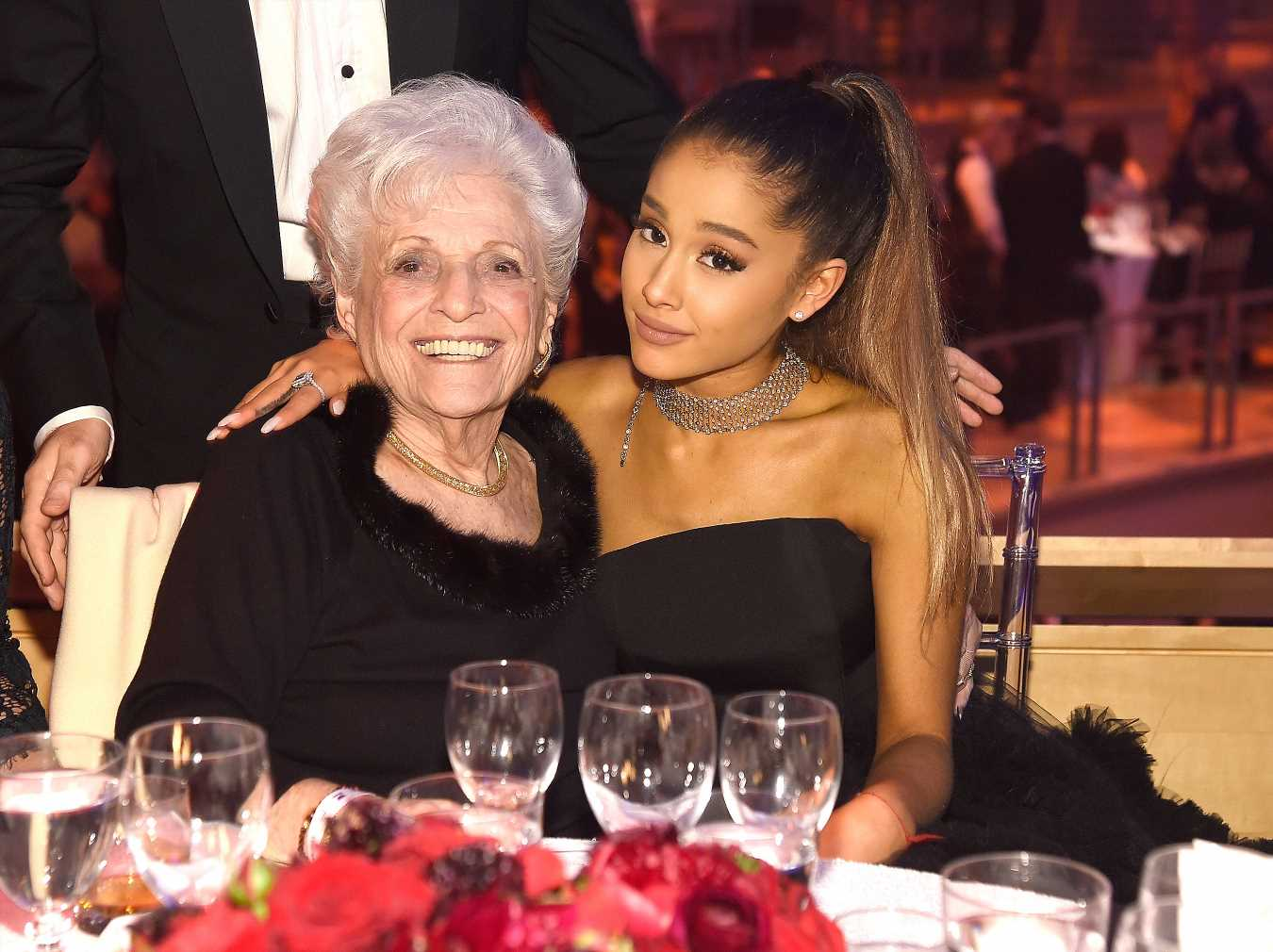 Ariana Grande and Her 93-year-old Grandmother Get Tattoos Together — Nonna's First Ink!