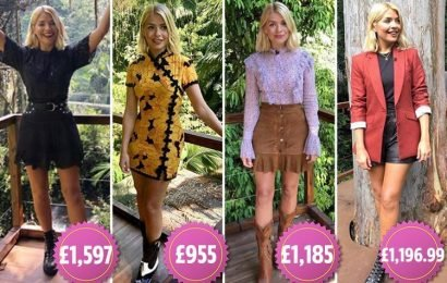 Inside Holly Willoughby's £16,000 I'm a Celebrity wardrobe, featuring £600 boots, a £770 blazerand a £95 white tee