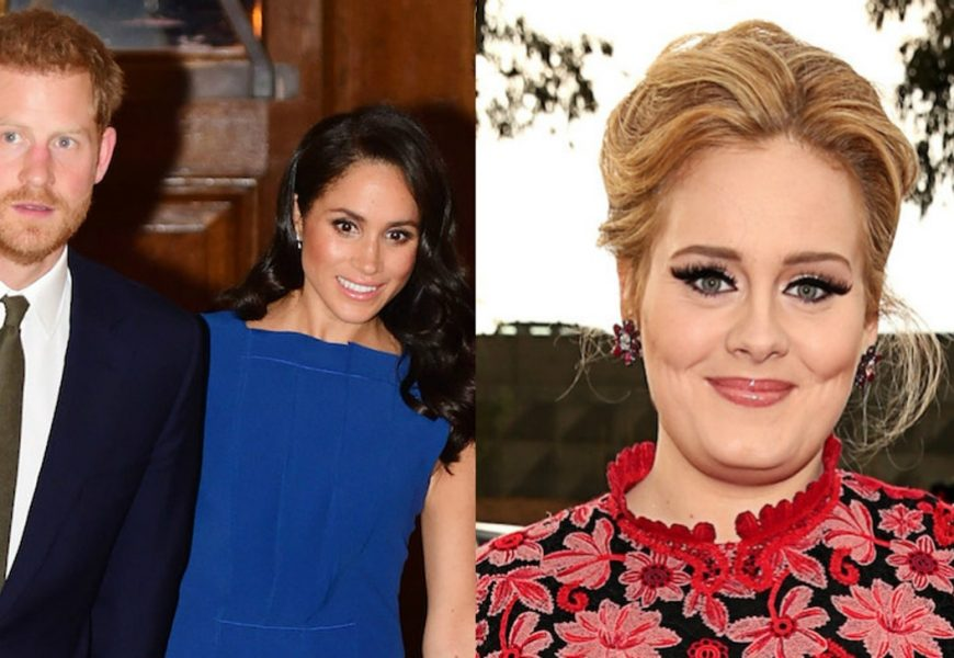 Meghan Markle, Prince Harry & Adele Reportedly Hung Out For A Good Cause