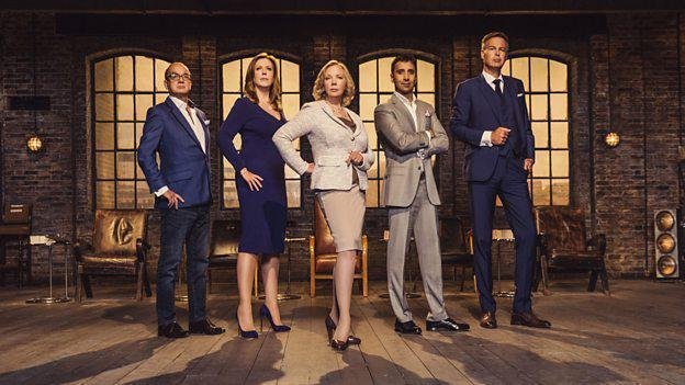 When is Dragons' Den on BBC Two tonight, who are the five Dragons and how does the show work?