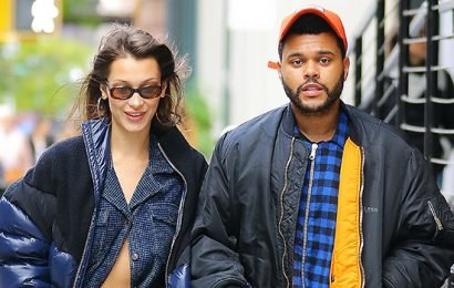 Bella Hadid Reveals The Weeknd Makes Her Laugh More Than Anyone Else In 73 Questions For 'Vogue'