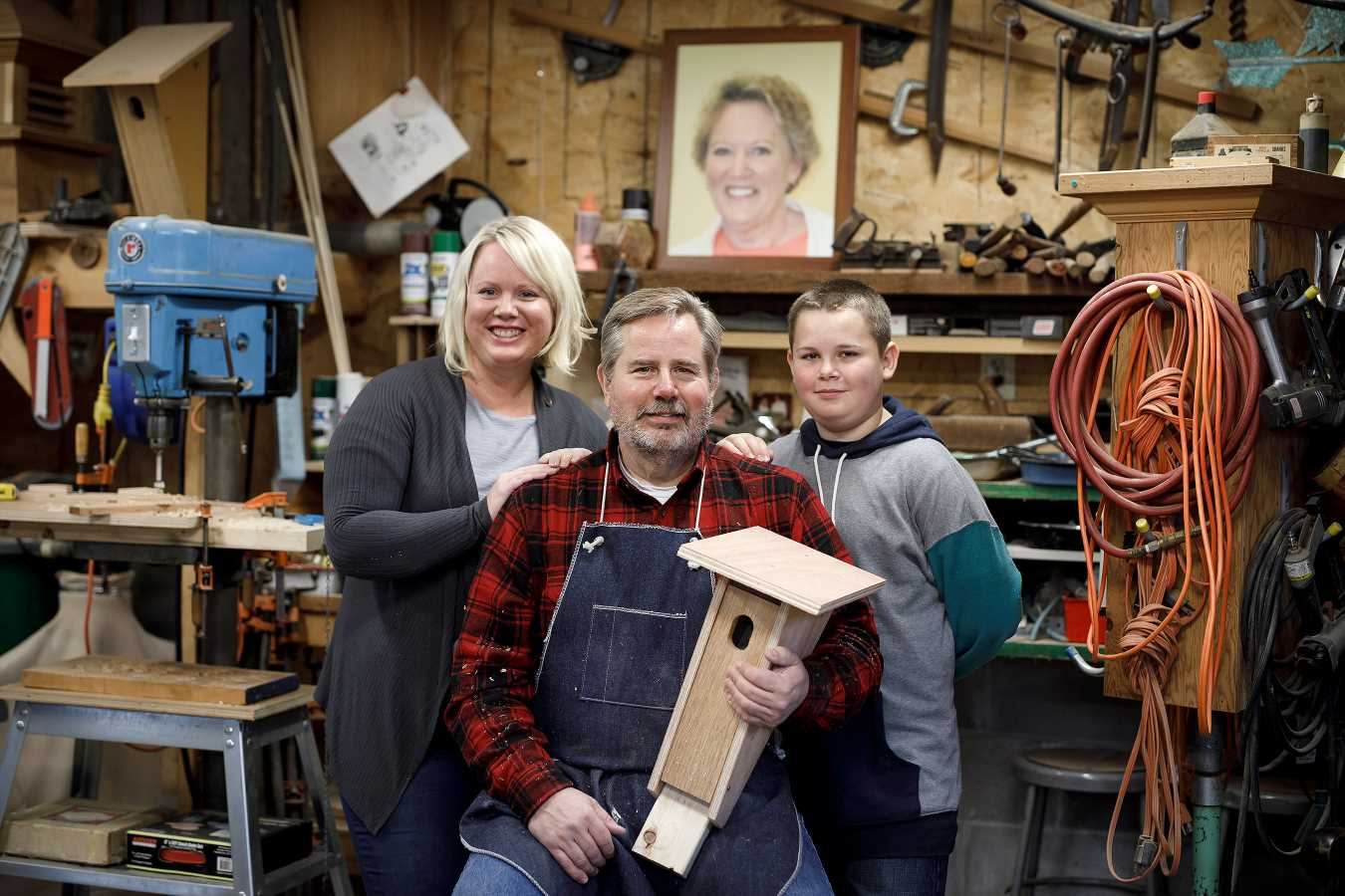 Widower Builds Hundreds of Bluebird Houses to Heal After Wife's Death from Cancer