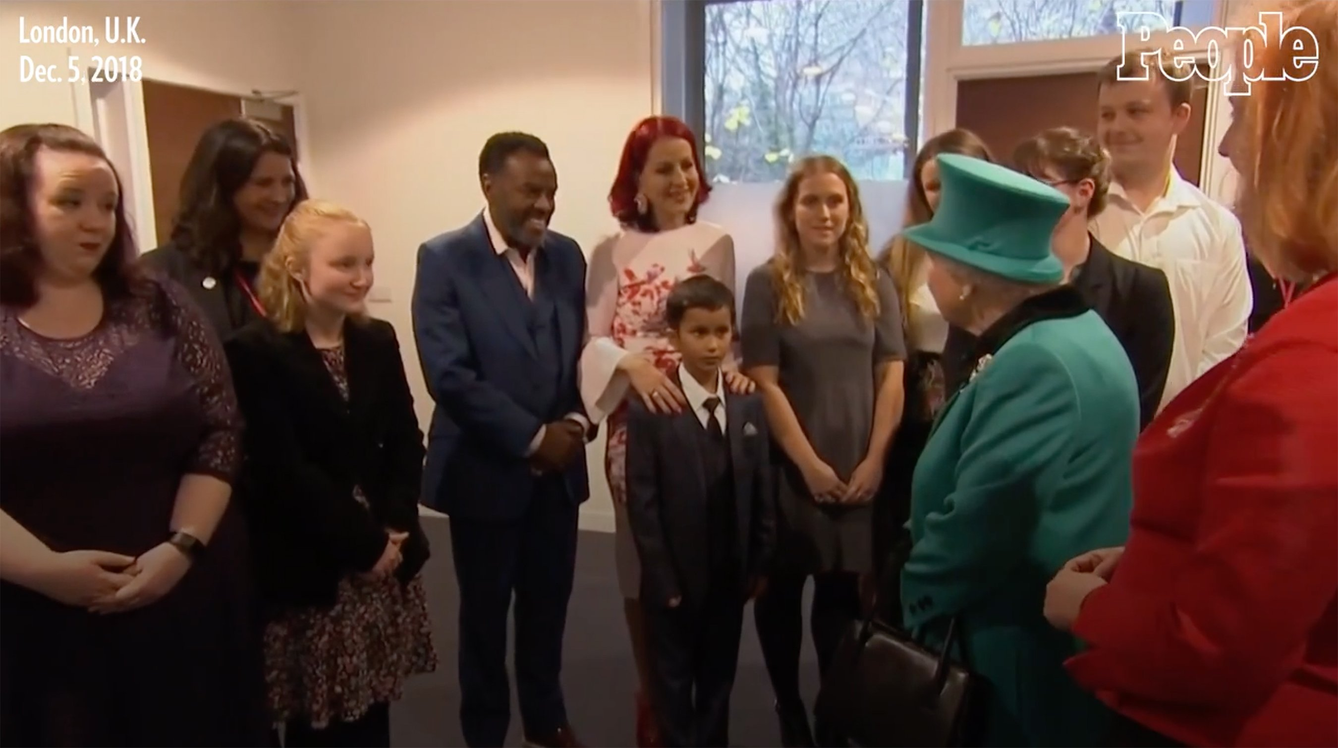 Boy, 9, Got So Overwhelmed Meeting the Queen That He Adorably Crawled Away Right in Front of Her