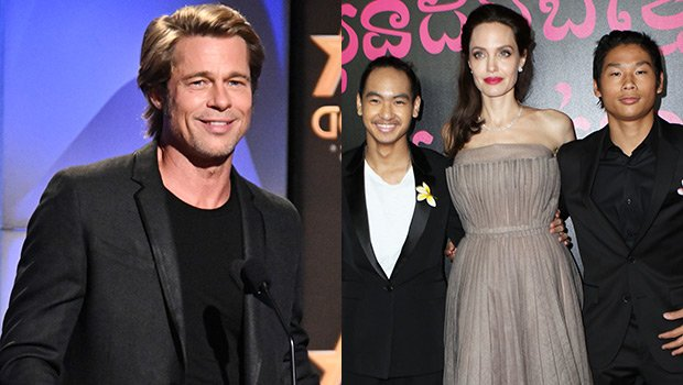 Brad Pitt's Relationship With Sons Pax & Maddox Has 'Improved Significantly' Since Angelina Jolie Split