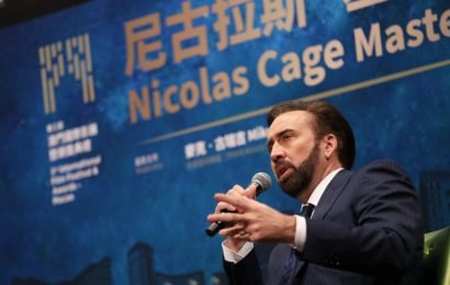 IFFAM: Nicolas Cage Talks Asian Cinema, Chinese Money
