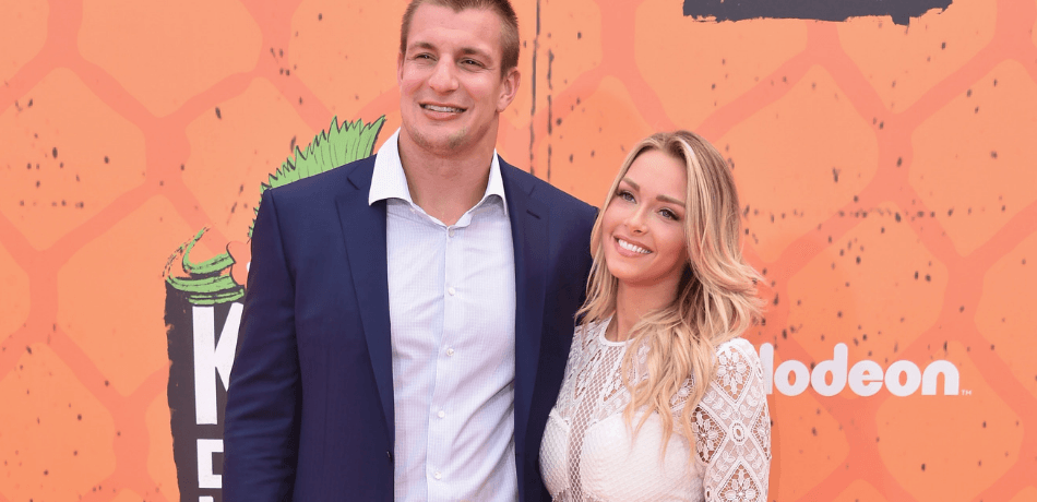 Camille Kostek Might Be Stronger Than You Think: Watch Her Give Rob Gronkowski A Piggy Back Ride