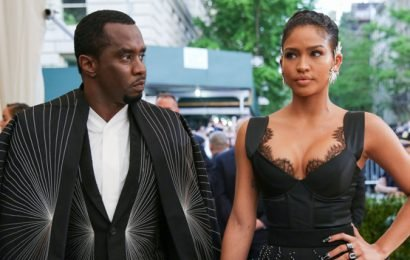 Cassie Shoots Down Diddy's Love Message By Kissing Another Man In Sexy New Pic