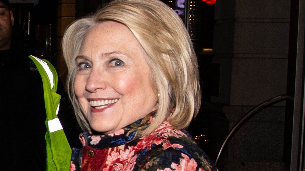 Hillary Clinton Attends Opening of Broadway's 'Network'