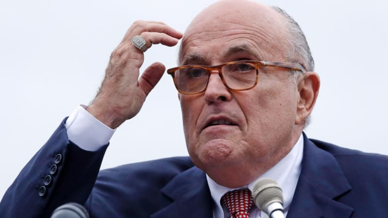 Rudy Giuliani's typo became an anti-Trump message thanks to this prankster