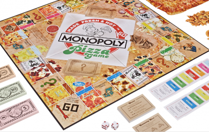 This Pizza Monopoly Game Swaps Real Estate For All Your Favorite Toppings