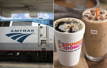 Amtrak's Holiday Photo Contest Is Here To Help You Score A $100 Dunkin' Gift Card