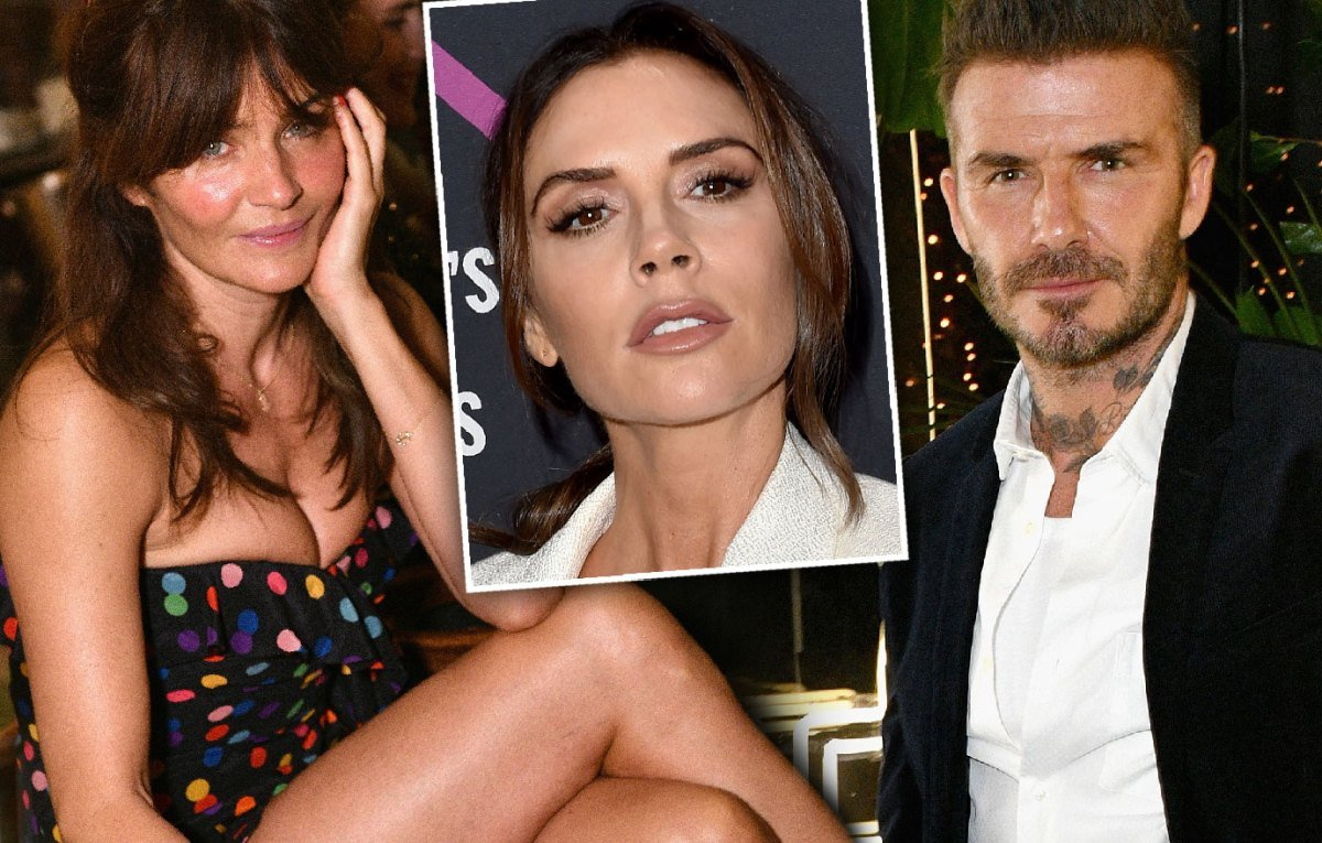 Good Times! David Beckham Spotted In Miami With Supermodel Helena Christensen
