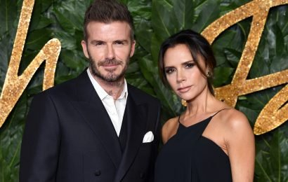 David Beckham hits red carpet with Victoria after week of partying