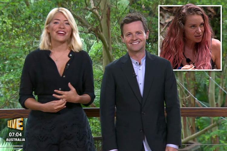 I'm A Celebrity's Declan Donnelly addresses claims Rita Simons knew she was leaving by making a cheeky dig about her panto job