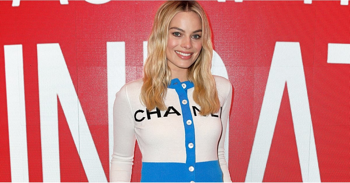 Margot Robbie's Wide-Leg Jeans Make Such a Statement, They're Giving Us Early 2000s Déjà Vu