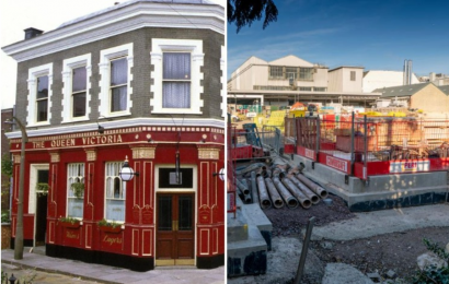 EastEnders' new £87m set is 'hell' for neighbours who blast BBC and claim their houses are 'cracking' because of the building work
