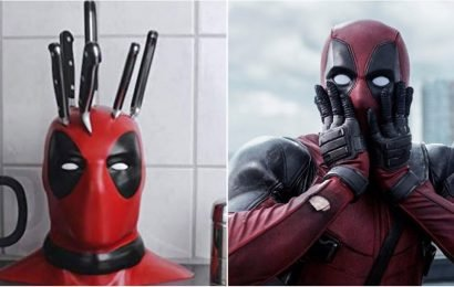 Want to Freak Out the Deadpool Fan in Your Life? Buy Them This Knife Block For Christmas