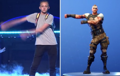 Fortnite sued by 'Backpack Kid' who claims the game stole his 'Flossing' dance move for its characters
