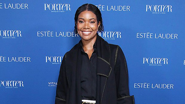 Gabrielle Union Cuddles Up To Kaavia, 3 Wks., In Sweet Mother/Daughter Pic