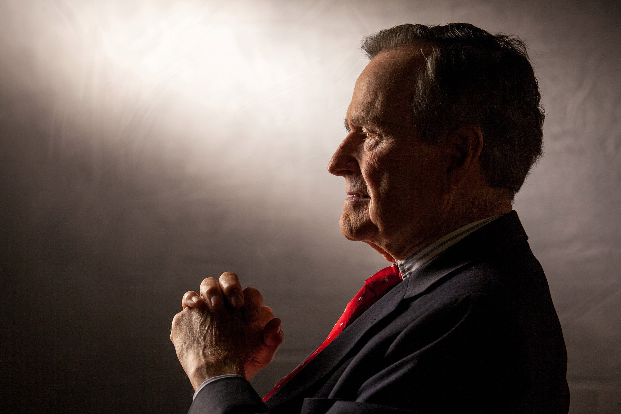 The gracious toughness of my old boss, George H.W. Bush