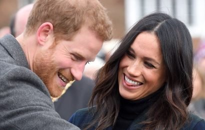 This Video of Prince Harry Trying to Get Meghan's Attention with Her Nickname Is SO CUTE