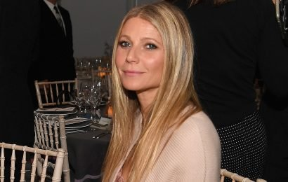 Gwyneth Paltrow can't be bothered on the beach