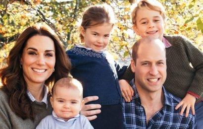 Charlotte Wears George's Sweater in the Royal Christmas Card