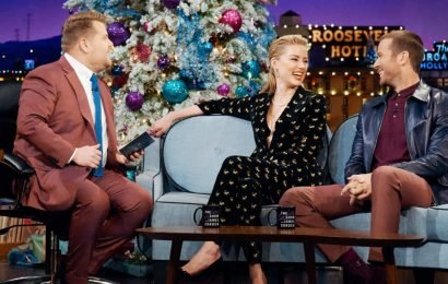 Amber Heard Says She Could Become An Aunt At Any Moment on 'Late Late Show'!