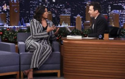 """Michelle Obama Tells Jimmy Fallon Her Thought While Boarding Air Force One On Trump Inauguration Day: """"Bye, Felicia"""""""