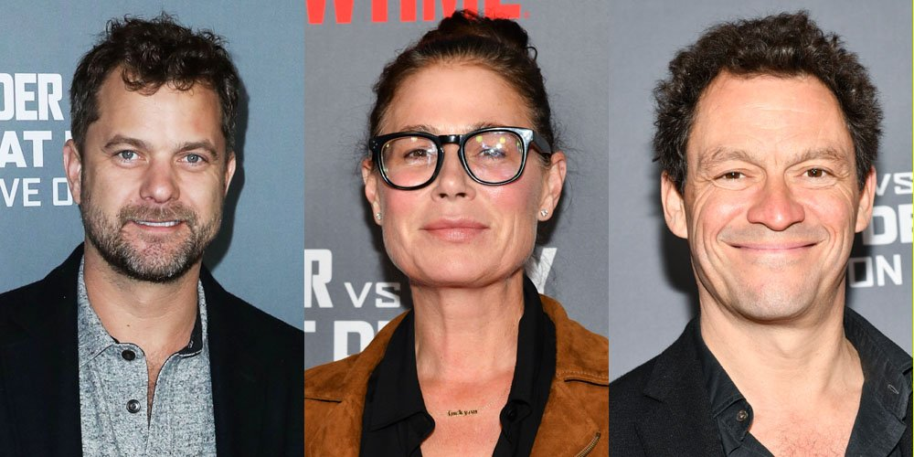 Joshua Jackson Joins 'The Affair' Co-Stars Maura Tierney & Dominic West at Wilder vs Fury Fight