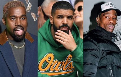 Kanye West Shades Drake By Leaving Travis Scott's Show Before 'Sicko Mode' Performance