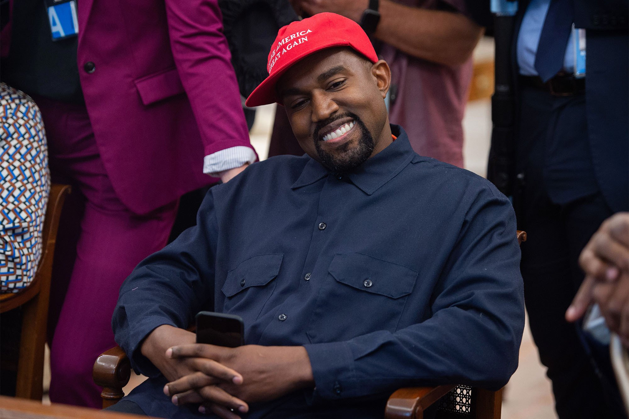 Kanye West slammed by 'The Cher Show' actor for texting