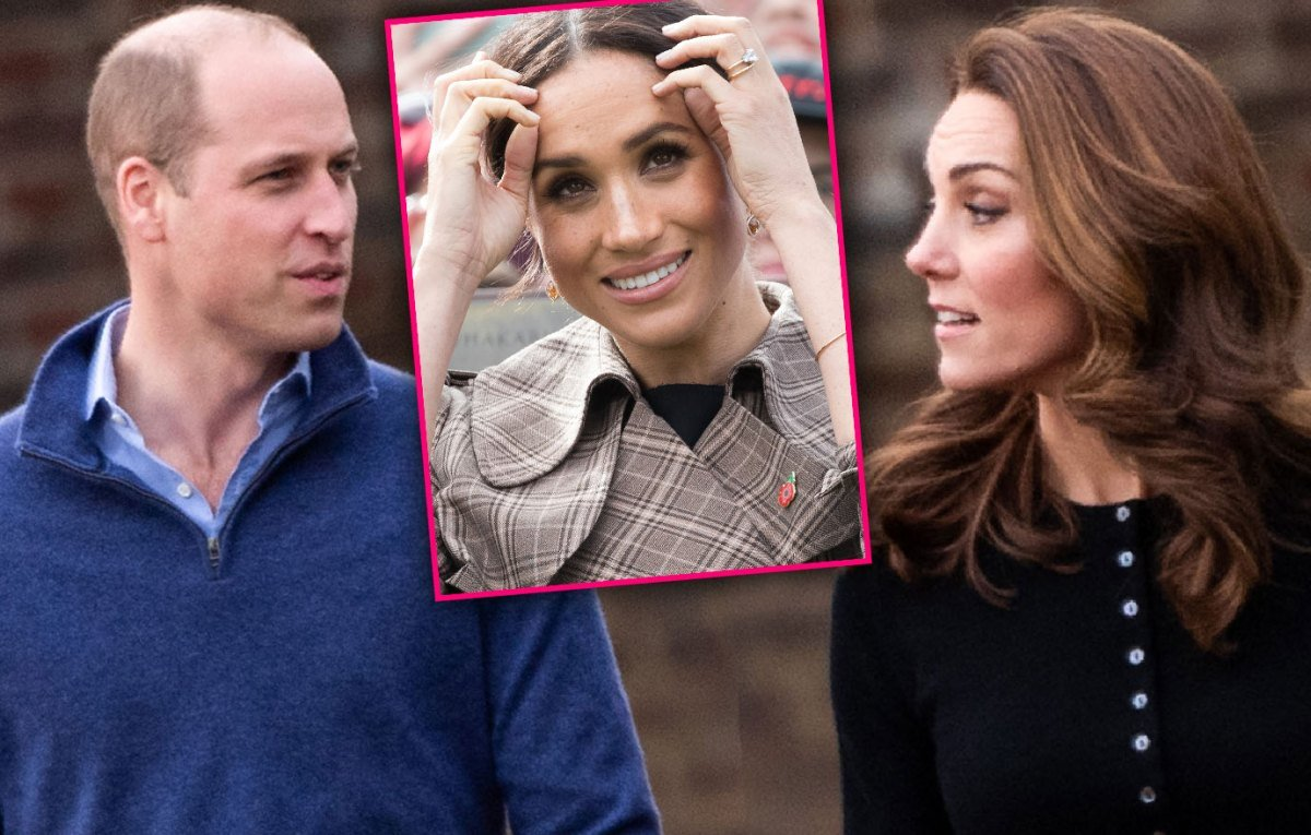 William And Kate Skip Royal Meeting Amid Rumored Feud With Diva Meghan Markle