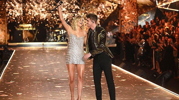 Kelsea Ballerini & The Chainsmokers Rock Out To 'This Feeling' At VS Fashion Show