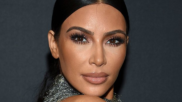 Kim Kardashian Flaunts Serious Cleavage While Going Braless In Suit Jacket — See Sexy Look