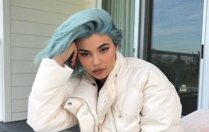 Kylie Jenner Dyes Her Hair Baby Blue — See Pic Of Her Gorgeous Makeover