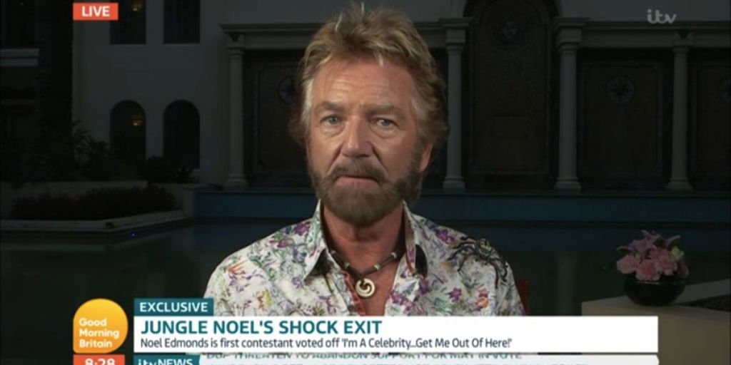 I'm a Celebrity's Noel Edmonds addresses 'feud' with host Holly Willoughby
