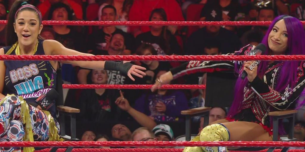 WWE Raw results: 6 things we learned as Sasha and Bayley tease Women's Tag Team Titles